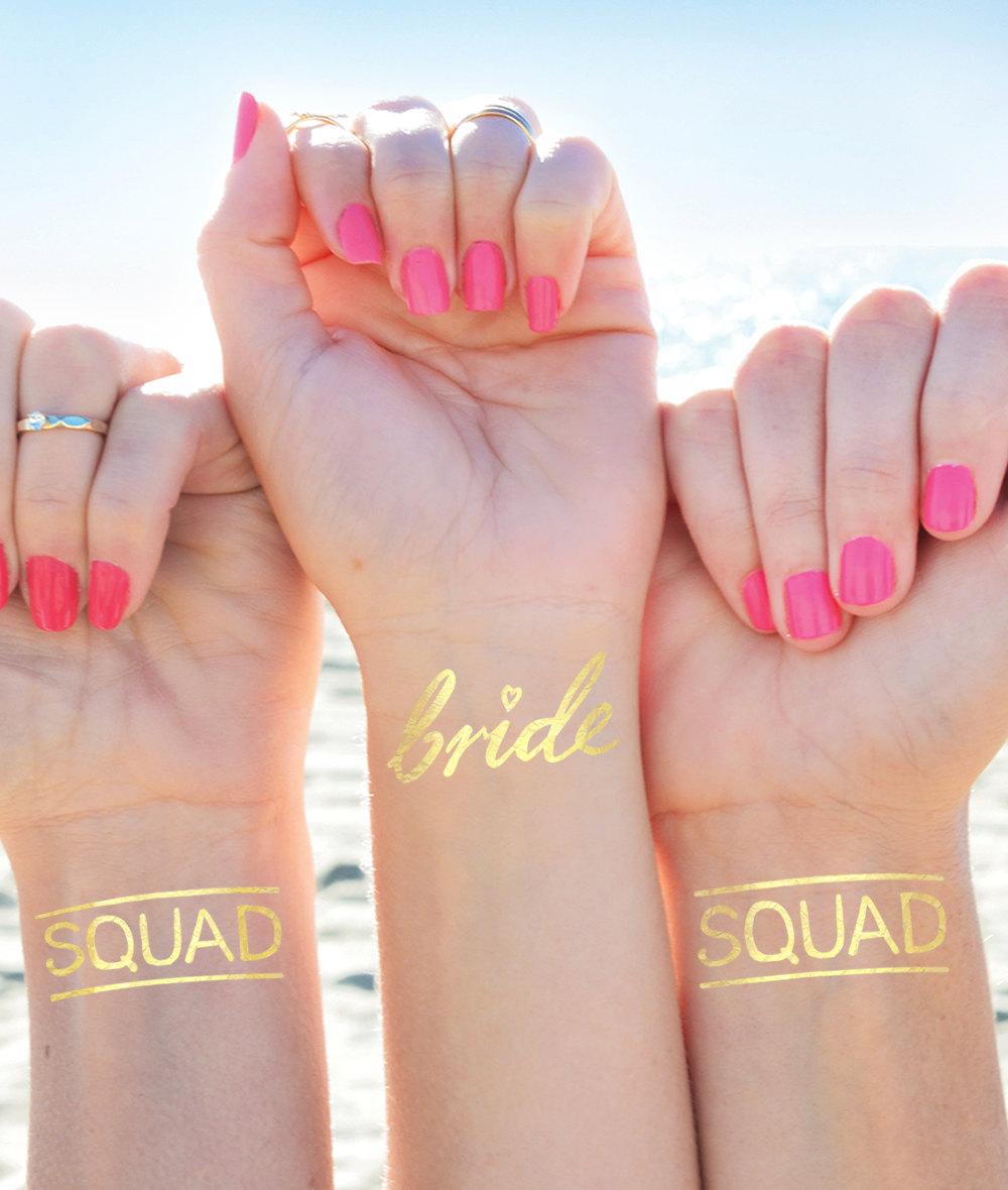Tatouages Bride Squad 1 - Blog Mariage
