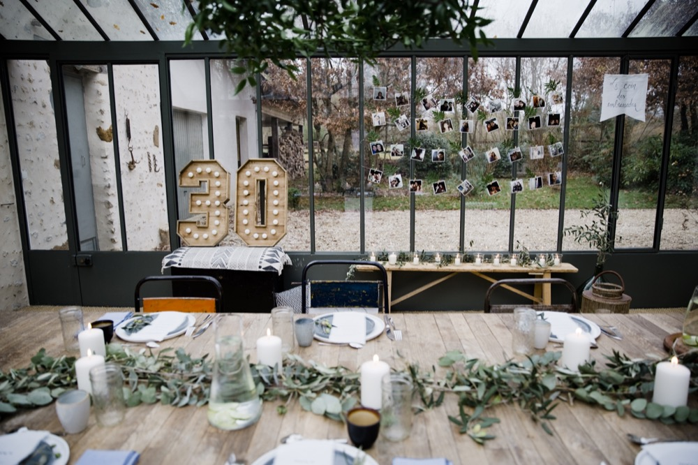 Ambiance Kinfolk : Mes 30 ans 2