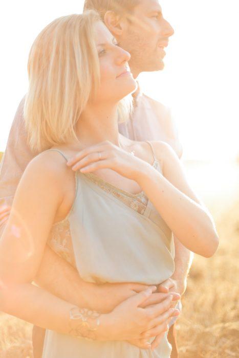 Love Session dans les champs de blé Love Session M&W dans les champs de blé 35 - Blog Mariage