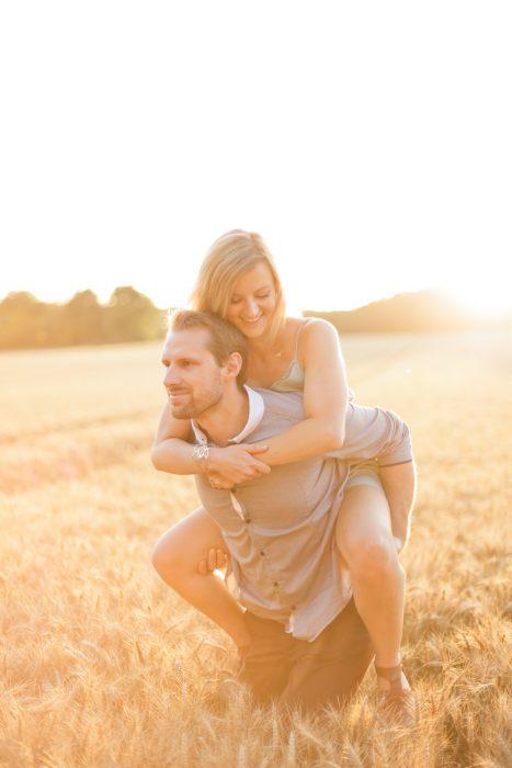 Love Session dans les champs de blé Love Session M&W dans les champs de blé 45 - Blog Mariage