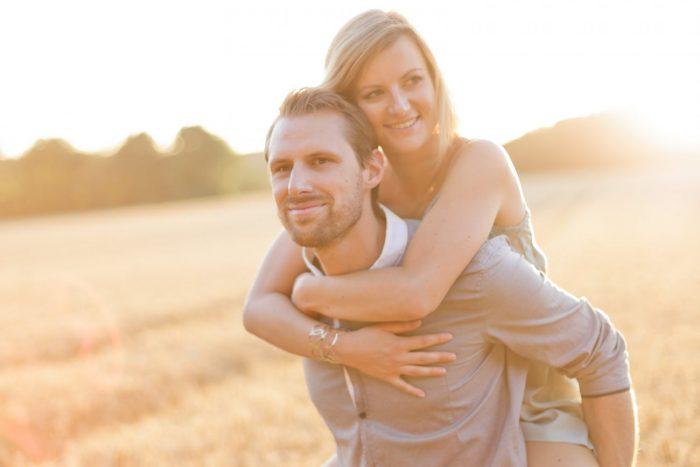 Love Session dans les champs de blé Love Session M&W dans les champs de blé 49 - Blog Mariage
