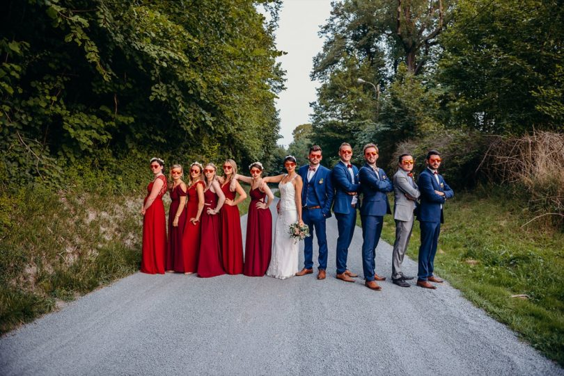 mariage rétro Mariage rétro Bordeaux et pêche J&G 157 - Blog Mariage