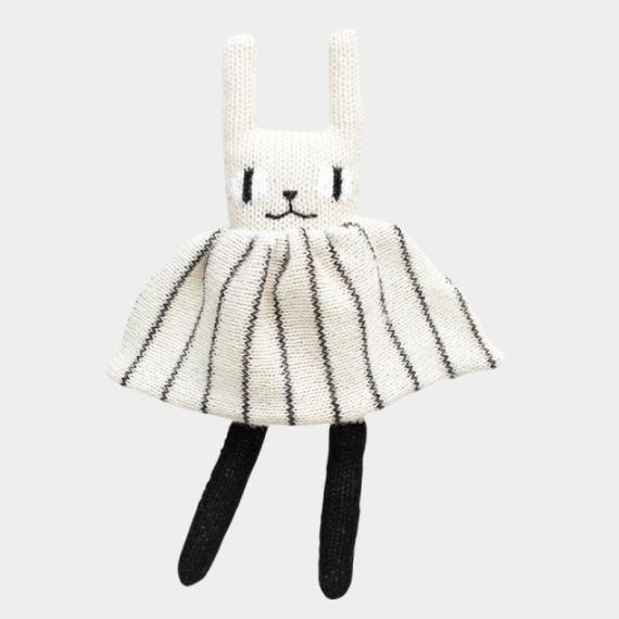 Doudou lapin tricoté 1 - Blog Mariage