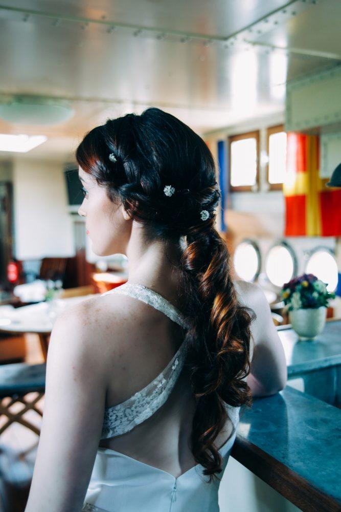mariage sur une péniche Shooting d'inspiration La Mariée de la Péniche 44 - Blog Mariage