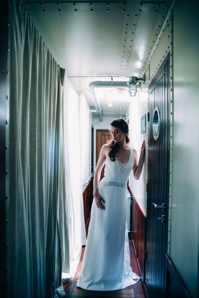 mariage sur une péniche Shooting d'inspiration La Mariée de la Péniche 8 - Blog Mariage