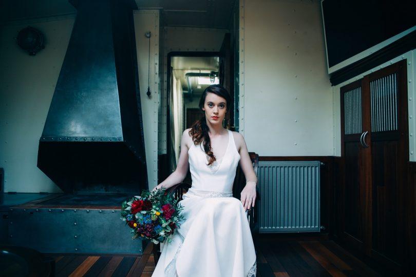 mariage sur une péniche Shooting d'inspiration La Mariée de la Péniche 16 - Blog Mariage