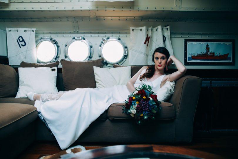 mariage sur une péniche Shooting d'inspiration La Mariée de la Péniche 22 - Blog Mariage