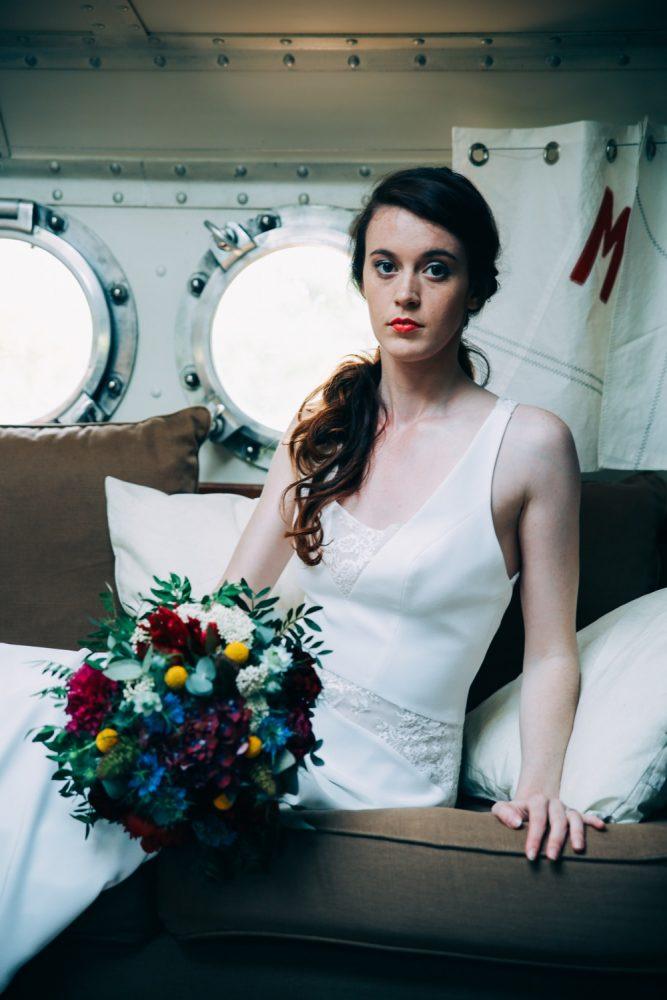 mariage sur une péniche Shooting d'inspiration La Mariée de la Péniche 20 - Blog Mariage