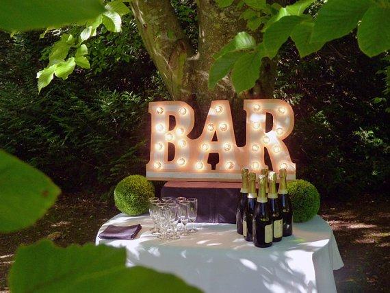 Enseigne lumineuse BAR 1 - Blog Mariage
