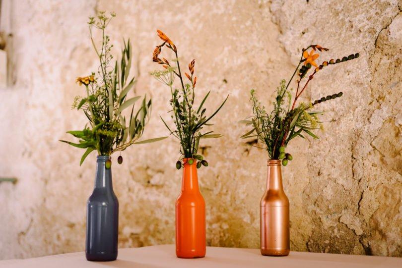 Mariage Orange pastel et Bleu gris Mariage Orange pastel et Bleu gris V&M 51 - Blog Mariage