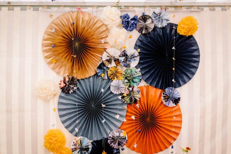 Mariage Orange pastel et Bleu gris Mariage Orange pastel et Bleu gris V&M 9 - Blog Mariage