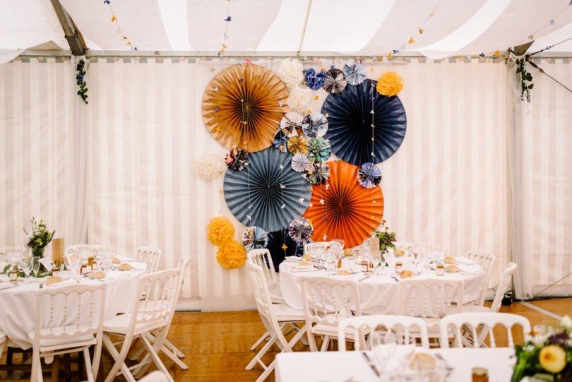 Mariage Orange pastel et Bleu gris Mariage Orange pastel et Bleu gris V&M 57 - Blog Mariage