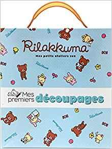 Mes premiers découpages Rilakkuma 1 - Blog Mariage