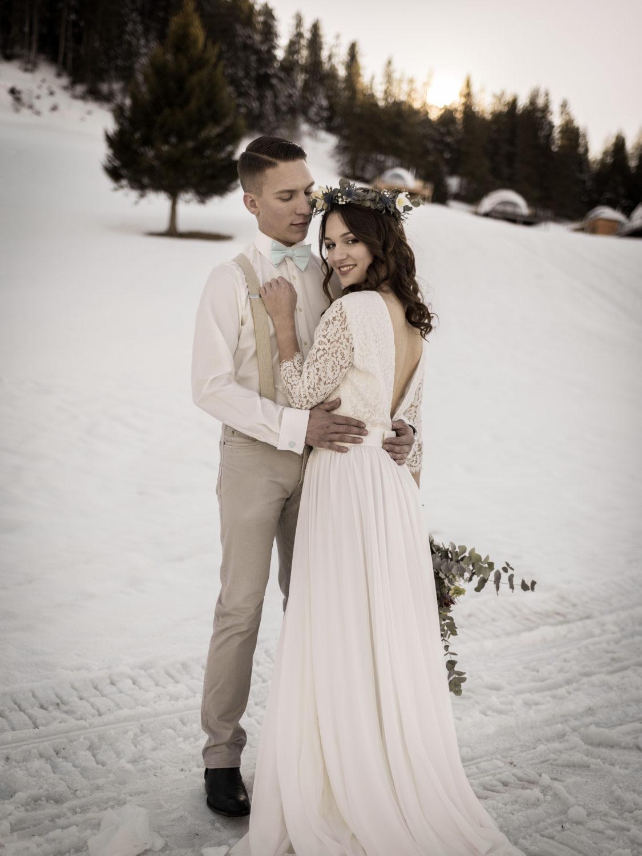 mariage d'hiver Shooting d'inspiration Mariage d'Hiver 17