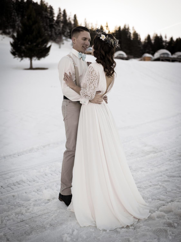 mariage d'hiver Shooting d'inspiration Mariage d'Hiver 19