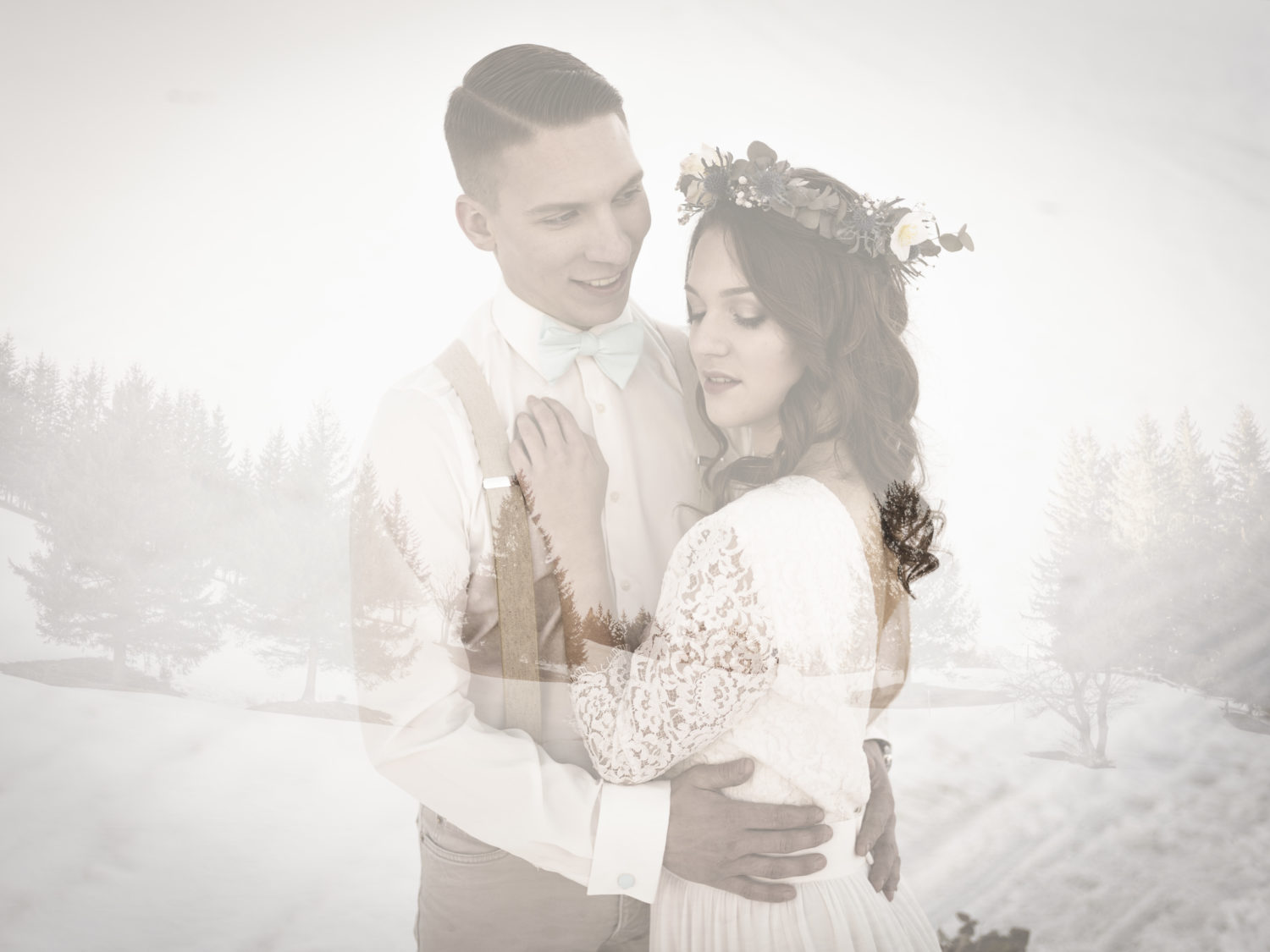 mariage d'hiver Shooting d'inspiration Mariage d'Hiver 21 - Blog Mariage