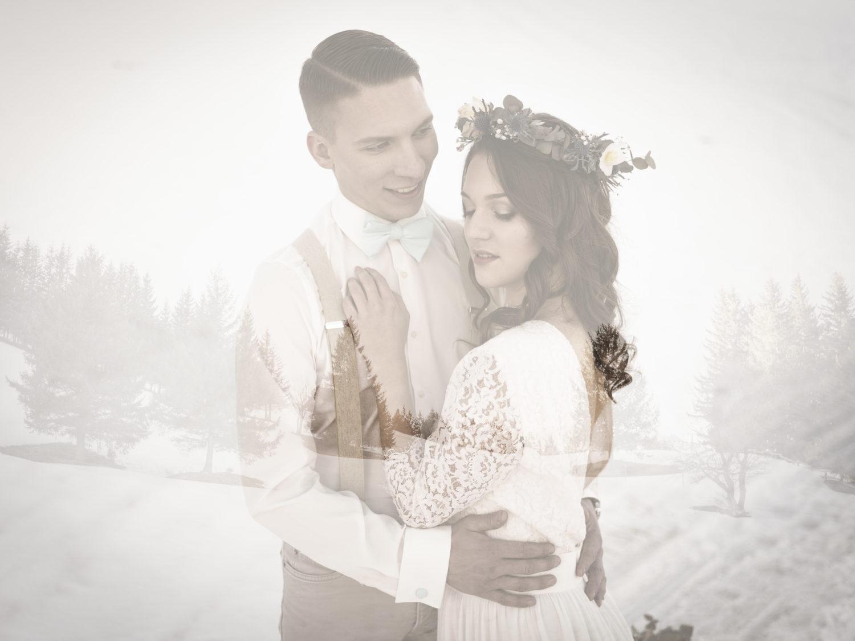 mariage d'hiver Shooting d'inspiration Mariage d'Hiver 21