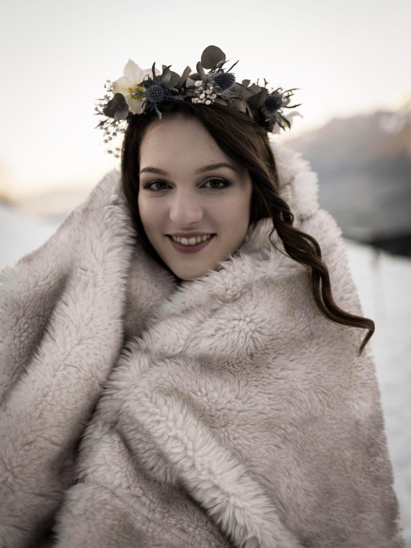 mariage d'hiver Shooting d'inspiration Mariage d'Hiver 59