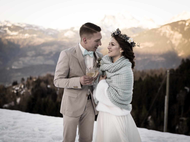 mariage d'hiver Shooting d'inspiration Mariage d'Hiver 63