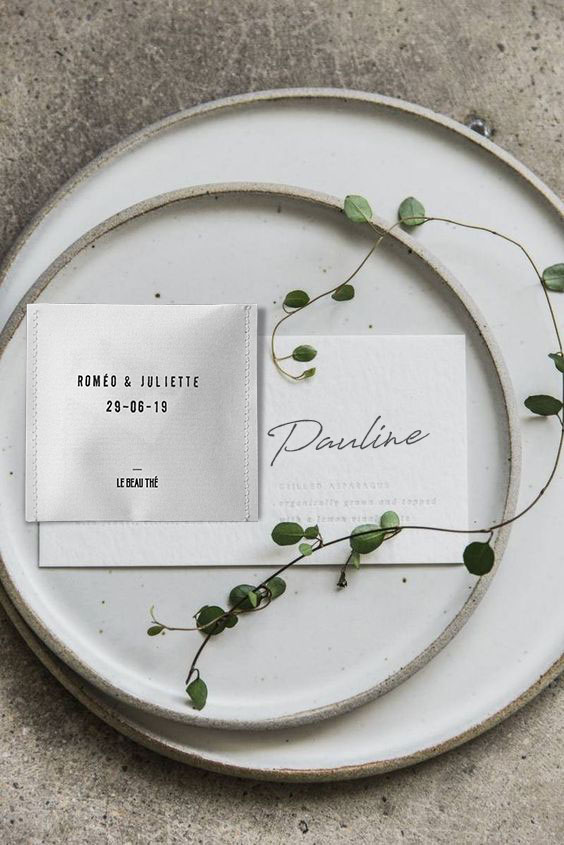 idée cadeau invités mariage Idée cadeau invités mariage : Le Beau Thé 5 - Blog Mariage