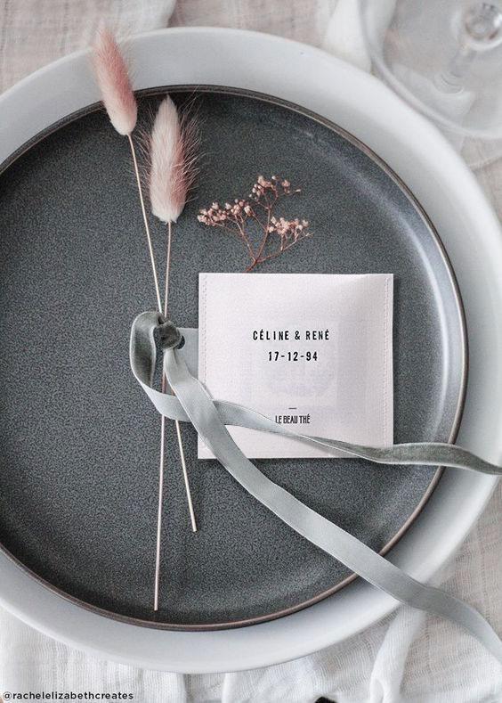 idée cadeau invités mariage Idée cadeau invités mariage : Le Beau Thé 25 - Blog Mariage