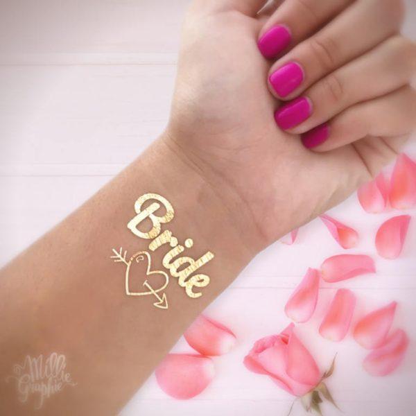 Bride Tattoo 1 - Blog Mariage